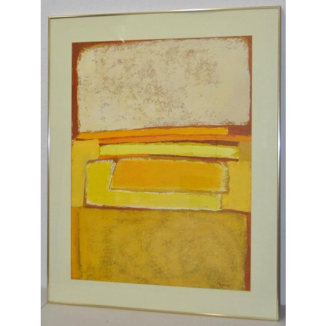 Classic 1970s Abstract Painting by Phyllis Cimenti - Image 3 of 7