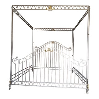 Kingsize Custom Iron Bed