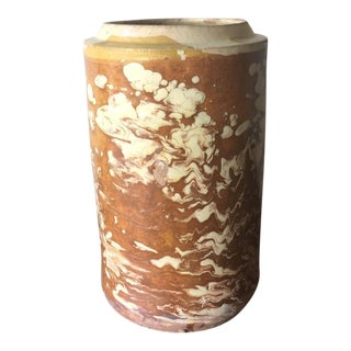 Marbleized Italian Antique Jar