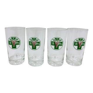 Set Vintage Medical Cocktail Glasses For Sale