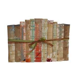 Vintage Holiday Paper and String Gift Set, (S/11) For Sale