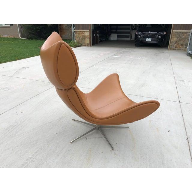 BoConcept Imola Chair & Ottoman For Sale - Image 4 of 7