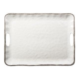 Kenneth Ludwig Chicago Veranda Rectangle Serving Tray For Sale