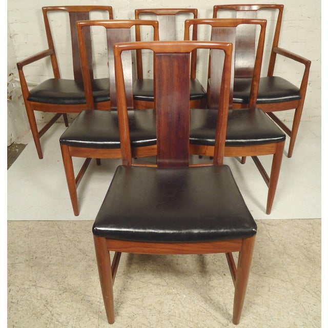 Wood Dining Set by John Stuart For Sale - Image 7 of 9