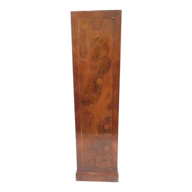 Traditional Burlwood Pedestal - Image 1 of 8