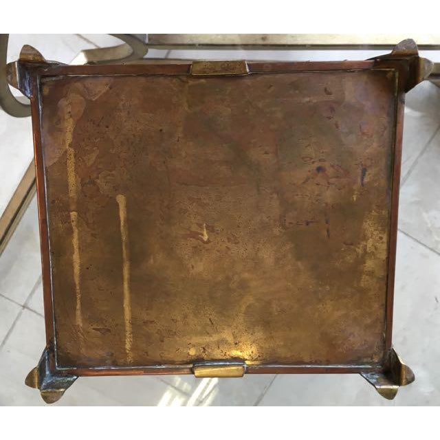 Vienna Secessionist Copper Trinket Box For Sale - Image 10 of 11
