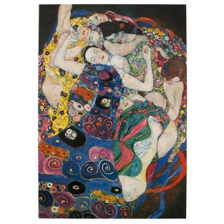 "1994 Gustav Klimt ""The Maiden"" Poster"