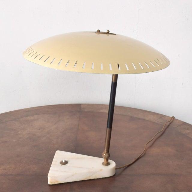 For your consideration: Rare Italian Desk Light Table Lamp By Gino Sarfatti for ARTELUCE 1950s Elegant presentation....