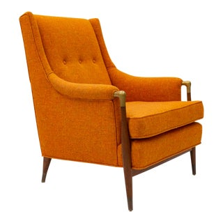 Mid 20th Century Jamestown Royal High Back Lounge Chair For Sale