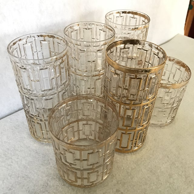 Collection of Imperial Glasses- Set of 6 For Sale - Image 5 of 5