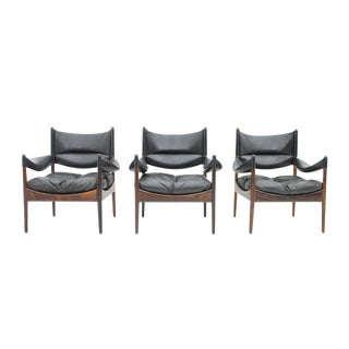 Kristian Solmer Vedel Lounge Chairs by Søren Willadsen, 1963 For Sale