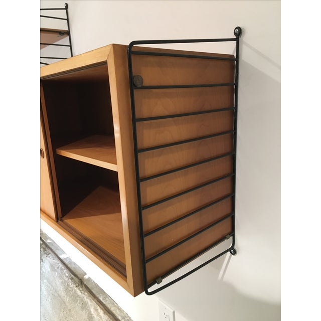 String Shelves and Cabinet by Nisse Strinning - Image 7 of 11