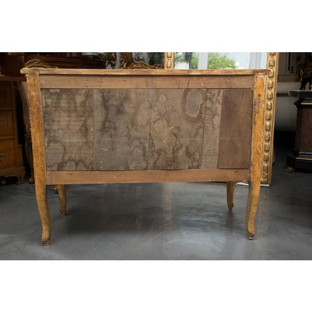19th Century Venetian Laca Povera Commode For Sale In West Palm - Image 6 of 9