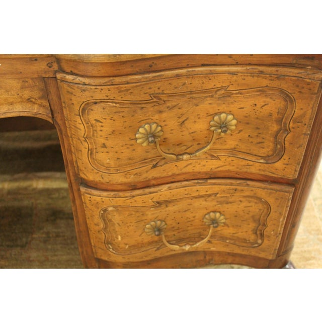 Louis XV Style Double-Sided Desk For Sale - Image 4 of 5