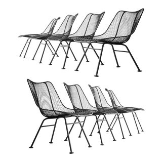 Russel Woodard Sculptura Scoop Chairs