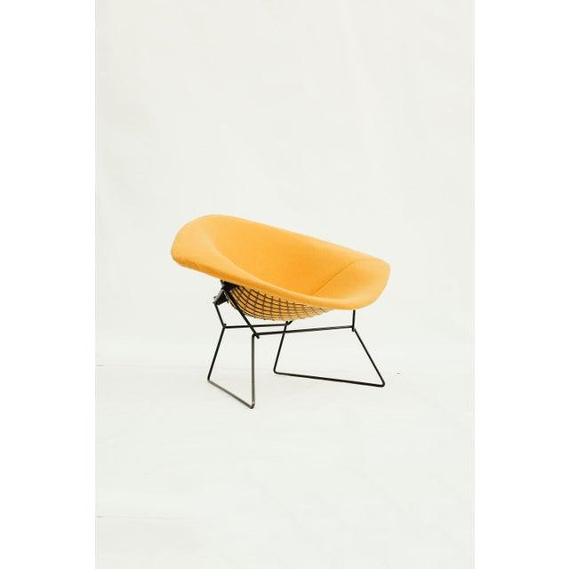Knoll 1970s Danish Modern for Knoll International Bertoia Large Diamond Chair For Sale - Image 4 of 11