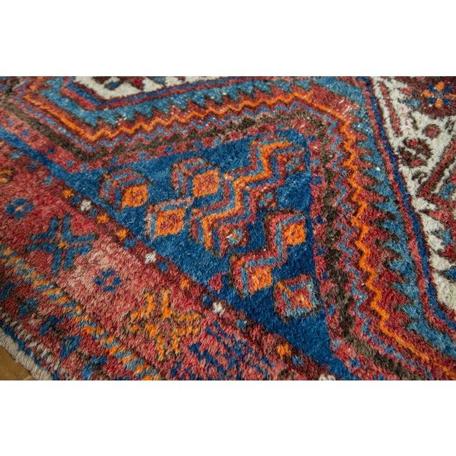 """Vintage Afshar Rug- 3'7"""" x 4'10"""" - Image 9 of 10"""