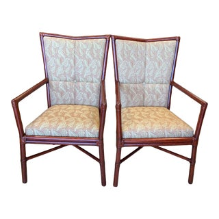 Orlando Diaz-Azcuy McGuire Cambria Chairs - a Pair For Sale
