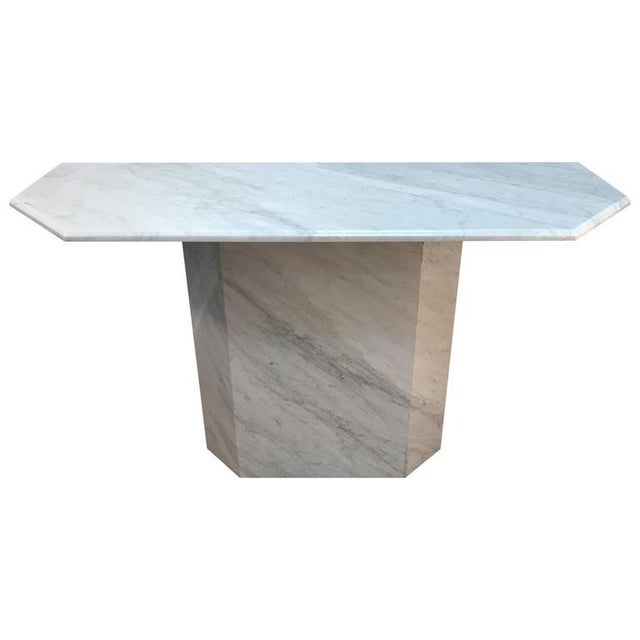 Italian Modern Carrera Console Table - Image 8 of 8