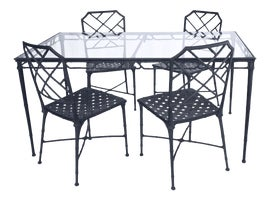 Image of Cast Aluminum Patio Furniture