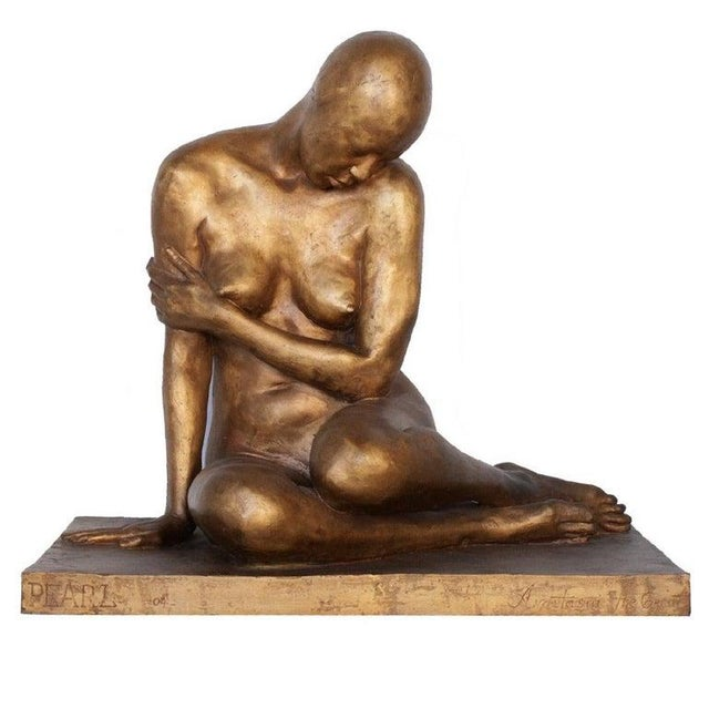 "Russian Modern Bronze ""Pearl"" by Anastasia the Great For Sale - Image 9 of 9"