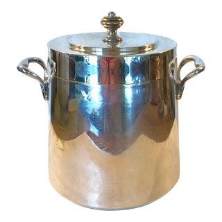 Vintage Italian Silver Plate Ice Bucket