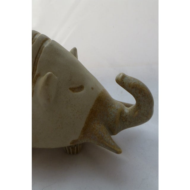 Danish-Style Armadillo Pottery Bank - Image 8 of 11