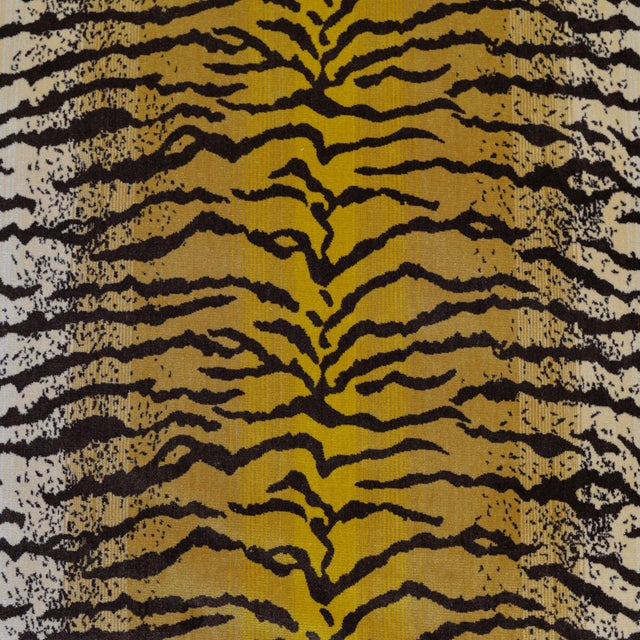 Tiger Silk Velvet Fabric - 1 Yard For Sale In Los Angeles - Image 6 of 6