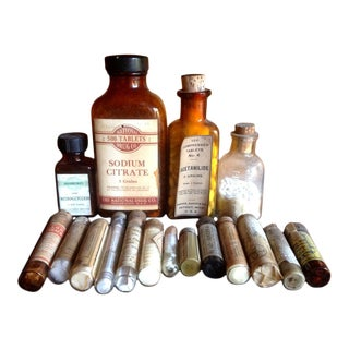 Vintage Country Doctor Medical Bottles & Vials For Sale