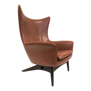Reclining Lounge Chair by H.W. Klein For Sale