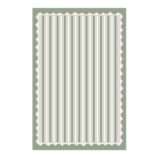 Scallops and Stripes Tablecloth