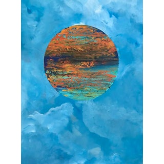 Original Abstract Painting: Surrealist For Sale