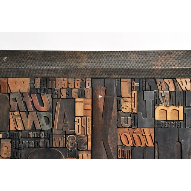"""Early 21st Century """"Les Lettres"""" Contemporary Art Work by Raoul W. For Sale - Image 5 of 11"""