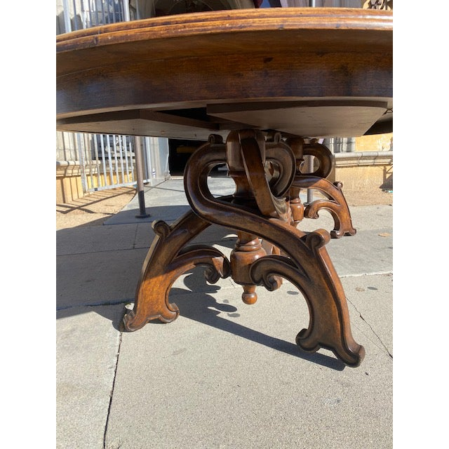 Wood Thierin Dining Table For Sale - Image 7 of 13