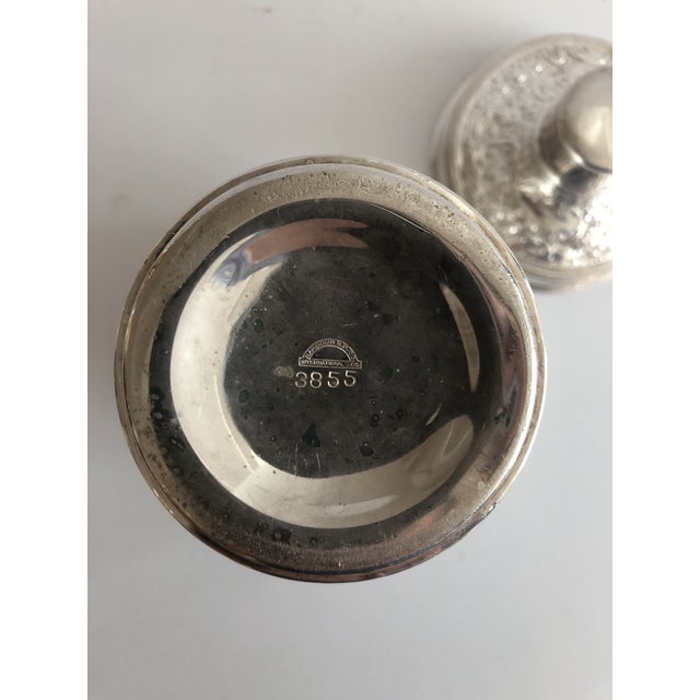Barbour Silver Co. 19th C. Barbour Repoussed Cocktail Shaker For Sale - Image 4 of 7