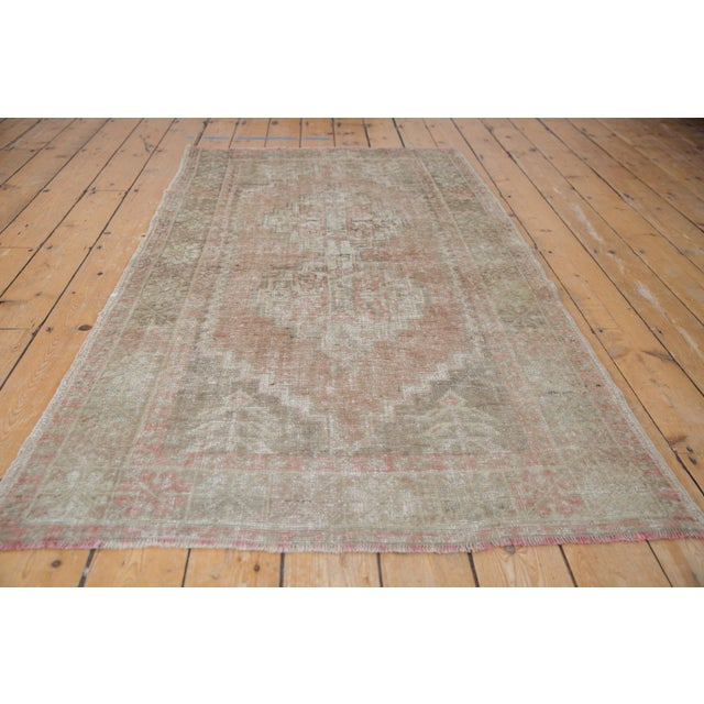 """Textile Distressed Oushak Rug - 3'7"""" X 6'3"""" For Sale - Image 7 of 11"""
