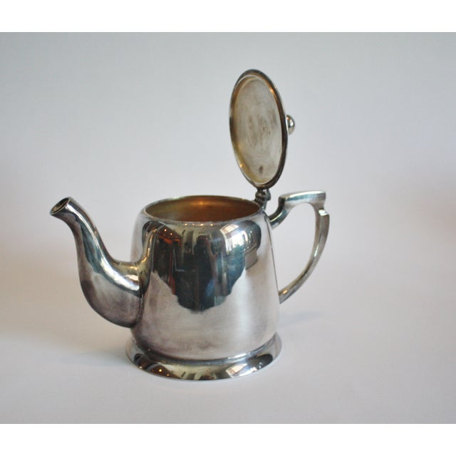 6 Piece Silver Tea & Coffee Service For Sale - Image 4 of 6