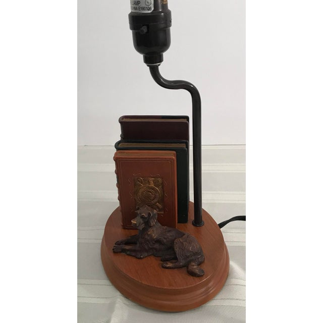Dog and Book Collection Desk Lamp - Image 5 of 10