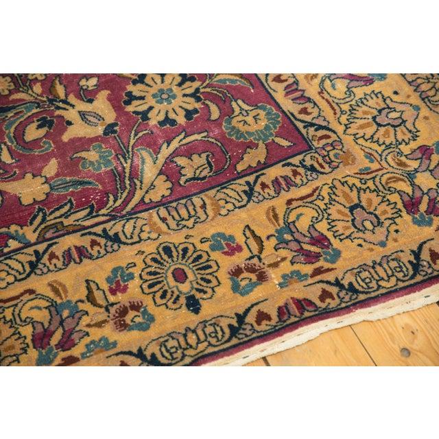 "Vintage Lilihan Carpet - 6'2"" X 9'6"" For Sale In New York - Image 6 of 12"