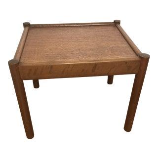 Mid-Century Mobler Teak Side Table For Sale