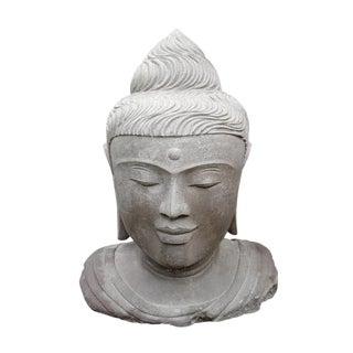 Bali Stone Buddha Head