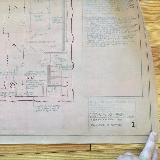 Nyc judson church blueprint chairish nyc judson church blueprint image 6 of 7 malvernweather Choice Image