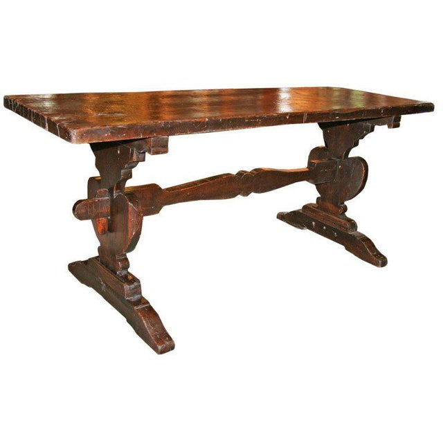 """Wood Italian 19th C. """"Frattino"""" Table For Sale - Image 7 of 7"""