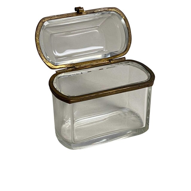 19th Century French Beveled Glass Box For Sale In Dallas - Image 6 of 8