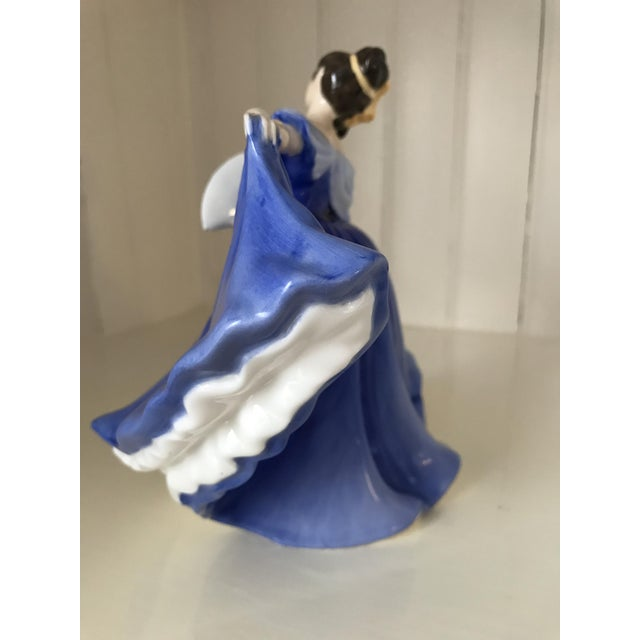 "1970s Royal Doulton ""Elaine"" Figurine For Sale - Image 5 of 8"