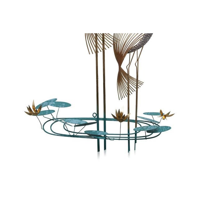 Mid-Century Modern Wall Sculpture 'Herons' by Curtis Jere For Sale - Image 3 of 7
