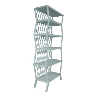 Hollywood Etagere - Blue For Sale