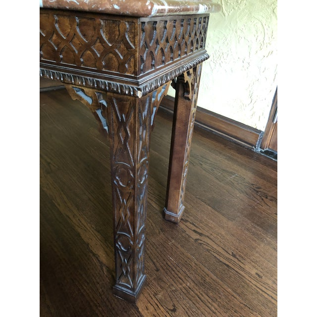 Amazing Henredon Asian Chinese Chippendale Console Table Chairish Andrewgaddart Wooden Chair Designs For Living Room Andrewgaddartcom