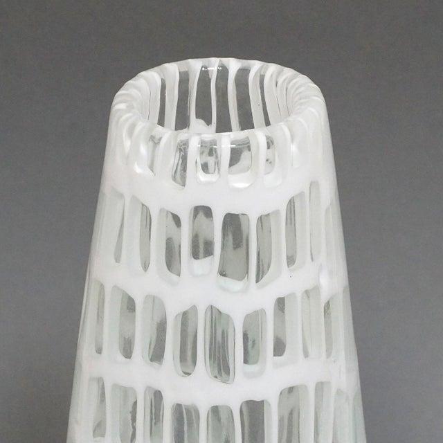 Venini Tobia Scarpa Vase 'occhi' For Venini Ca. 1970 For Sale - Image 4 of 9