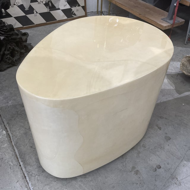 1970s Modern Goatskin Coffee Table For Sale - Image 9 of 10